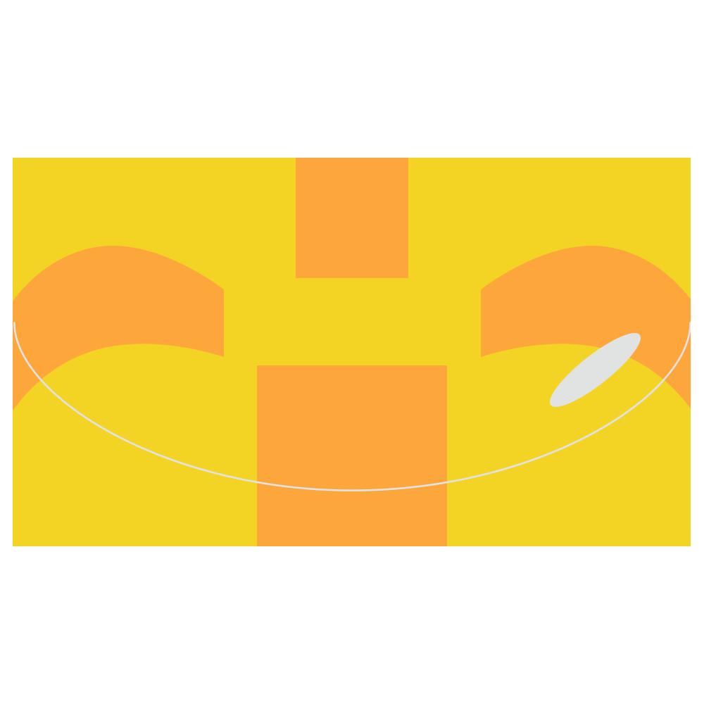 浮き輪のフリーイラスト