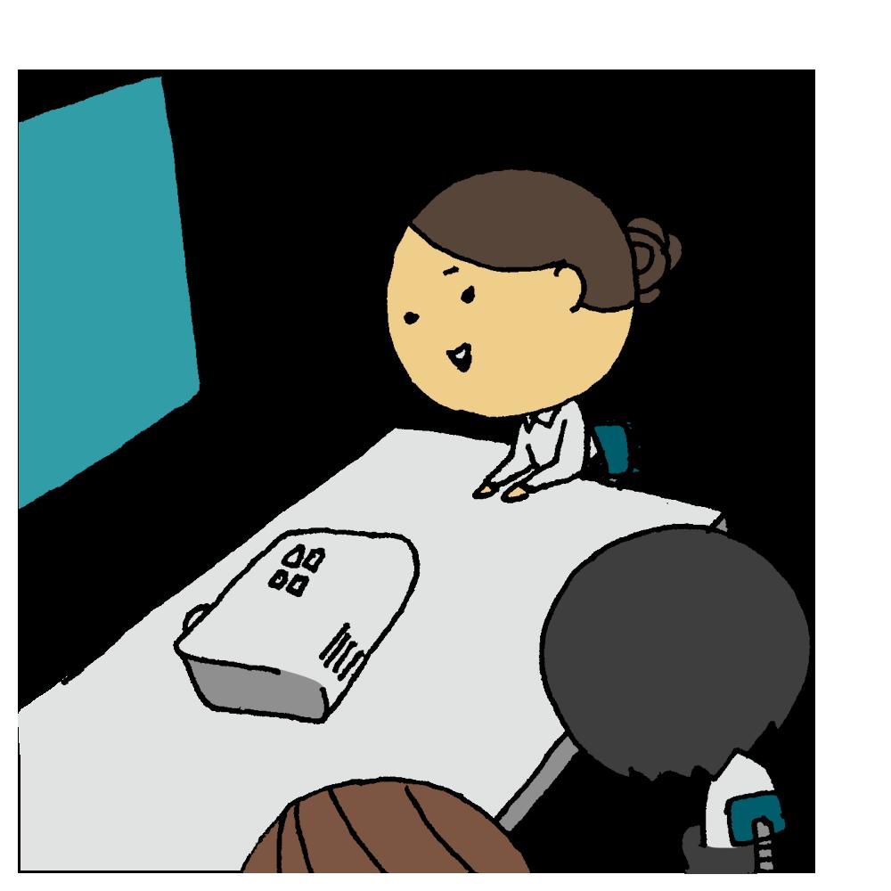 プロジェクター,会議,女性,人物,ビジネス,仕事,手書き風