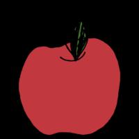 りんごのフリーイラスト