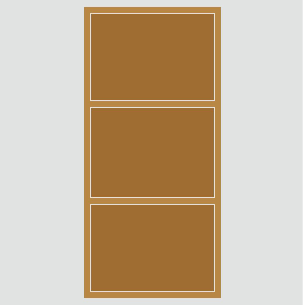 カラーボックスのフリーイラスト