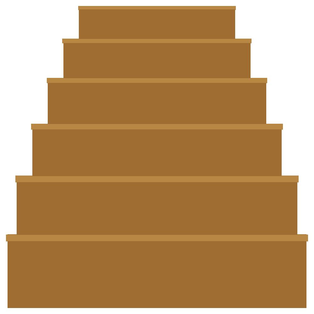 階段のフリーイラスト
