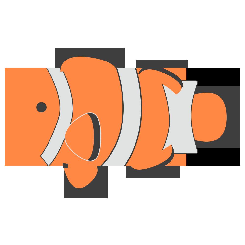 魚,観賞,水族館,海水魚,カクレクマノミ,オレンジ,可愛い
