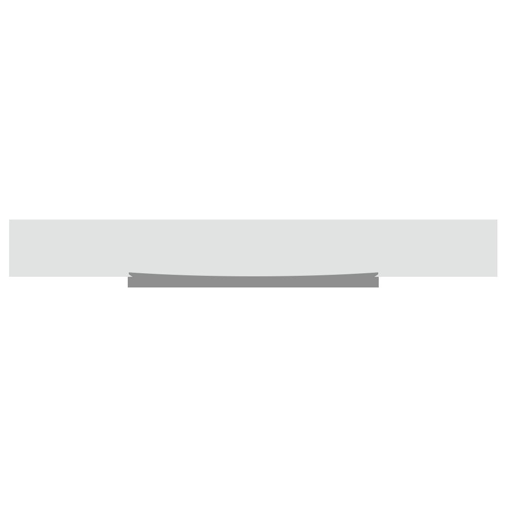 丸いお皿のフリーイラスト