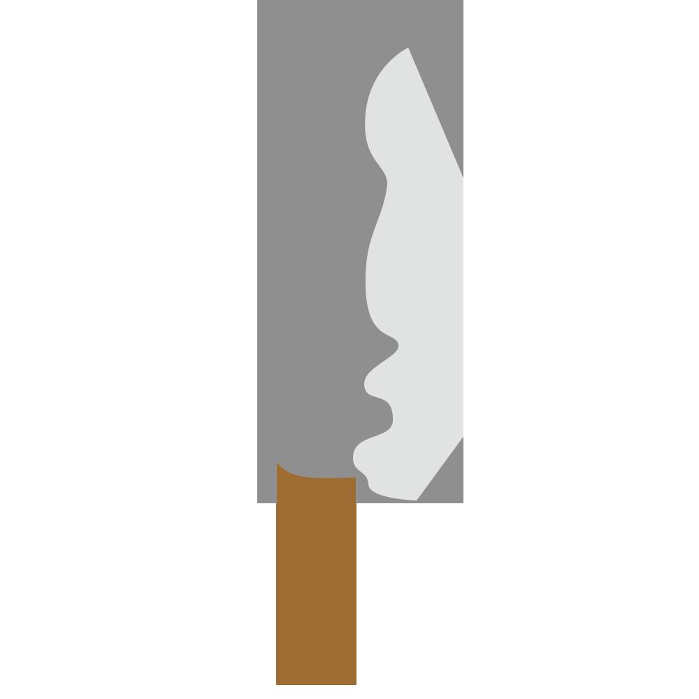 包丁のフリーイラスト