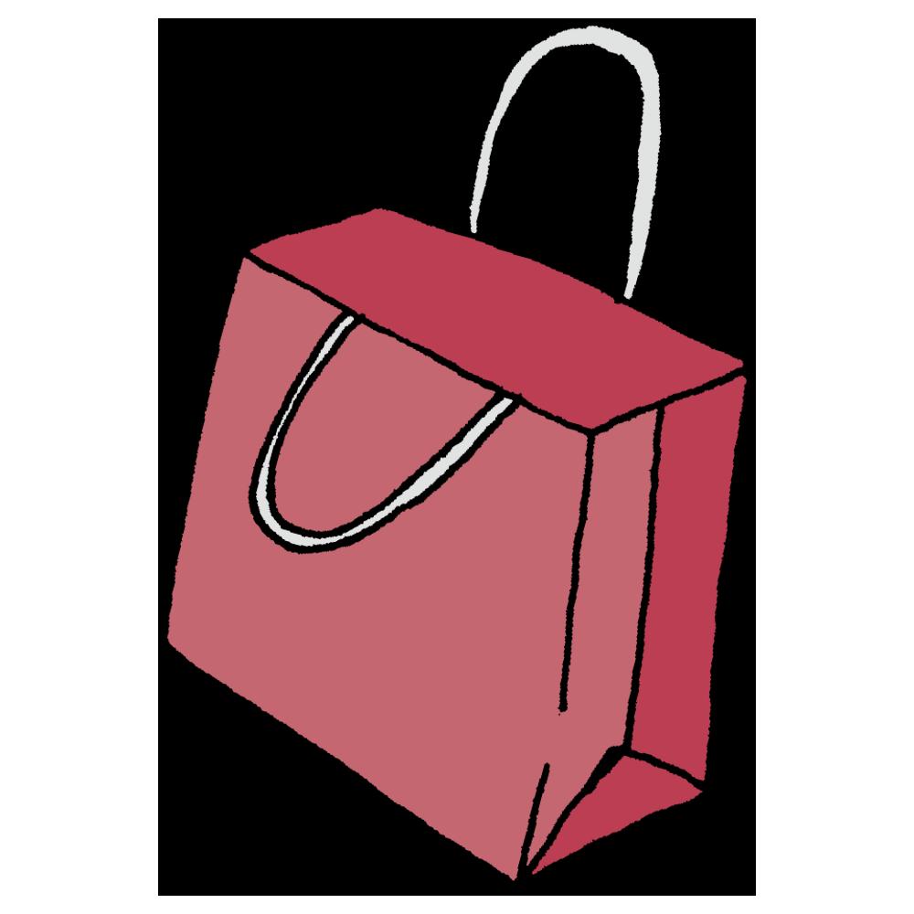 紙袋のフリーイラスト