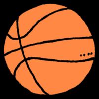 バスケットボールのフリーイラスト
