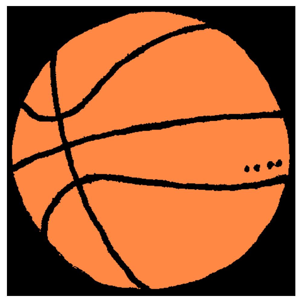 バスケットボール,バスケ,手書き風,スポーツ,ボール,投げる,シュート,キャッチ,パス,NBA