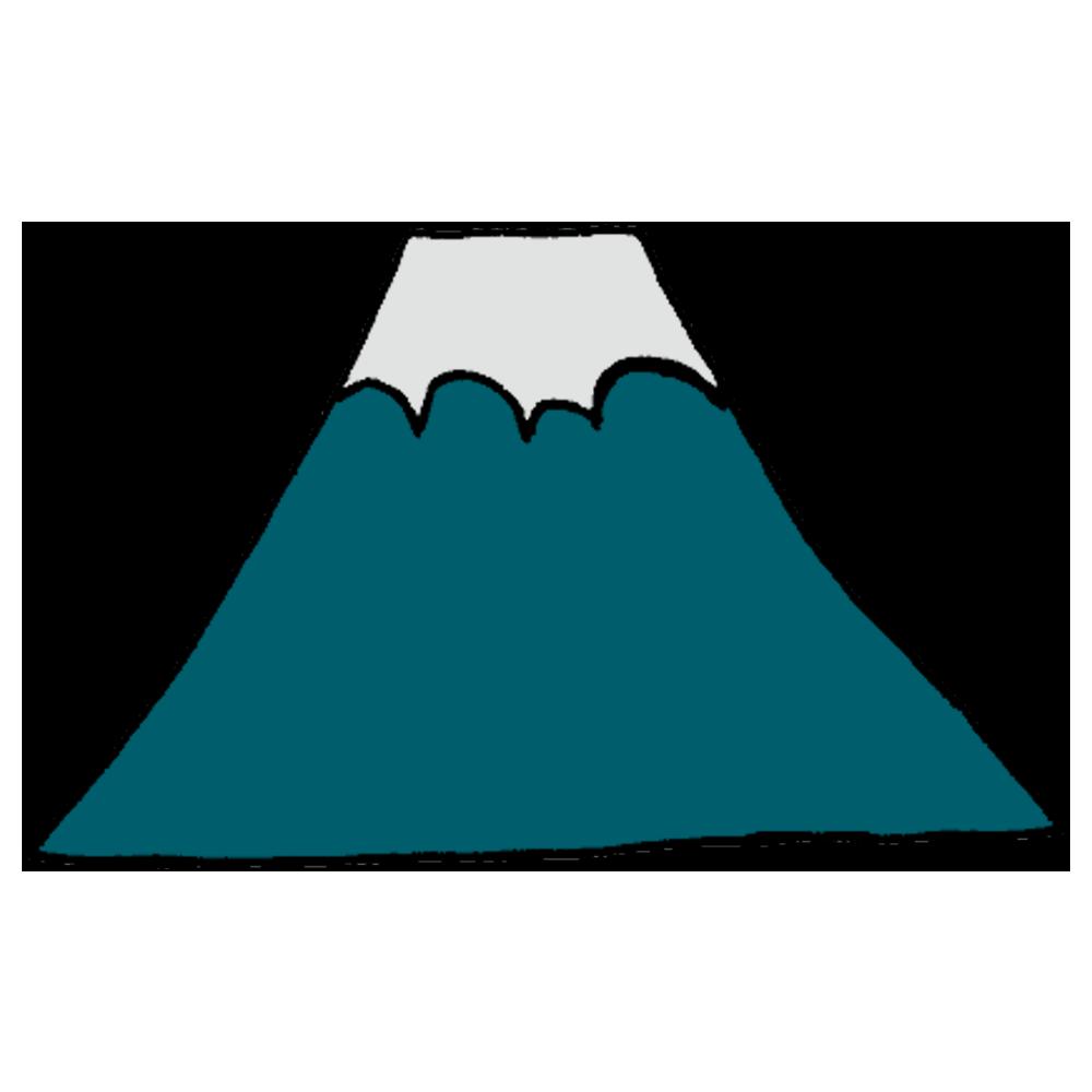 富士山のフリーイラスト