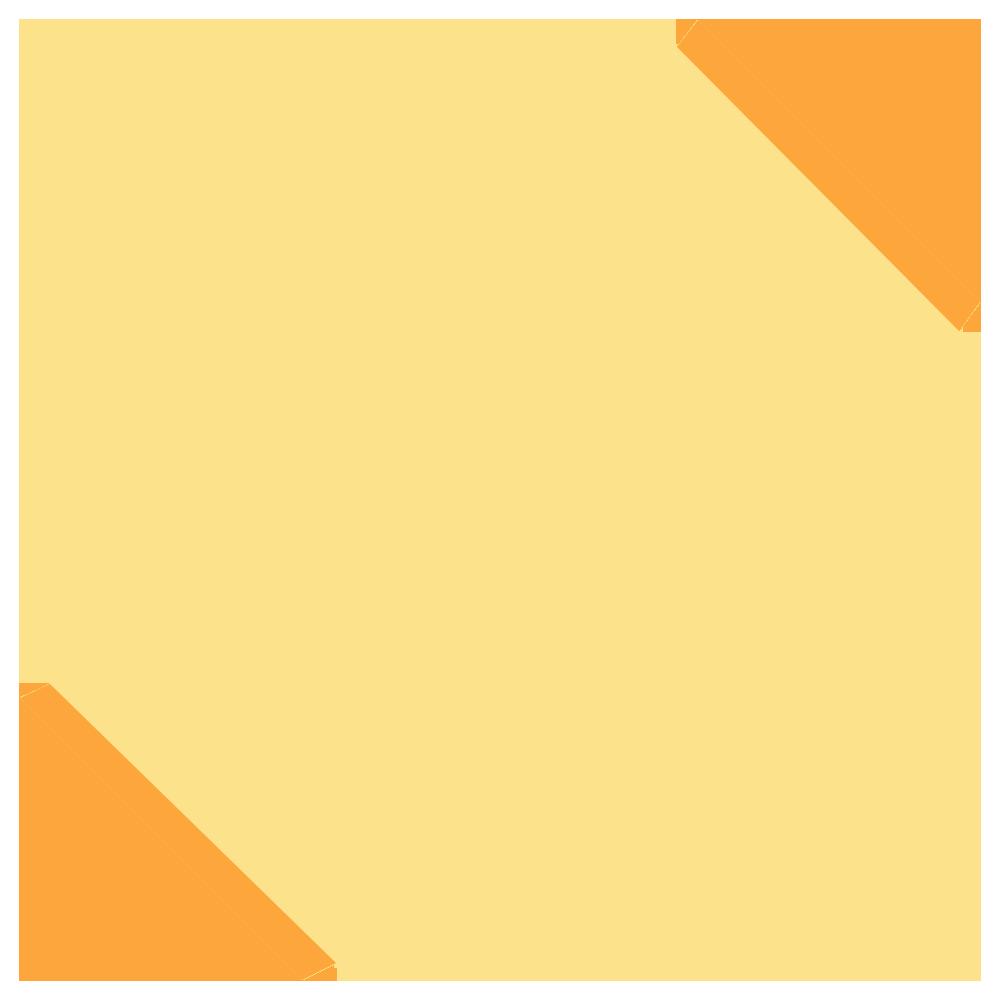 黄色いタオルのフリーイラスト