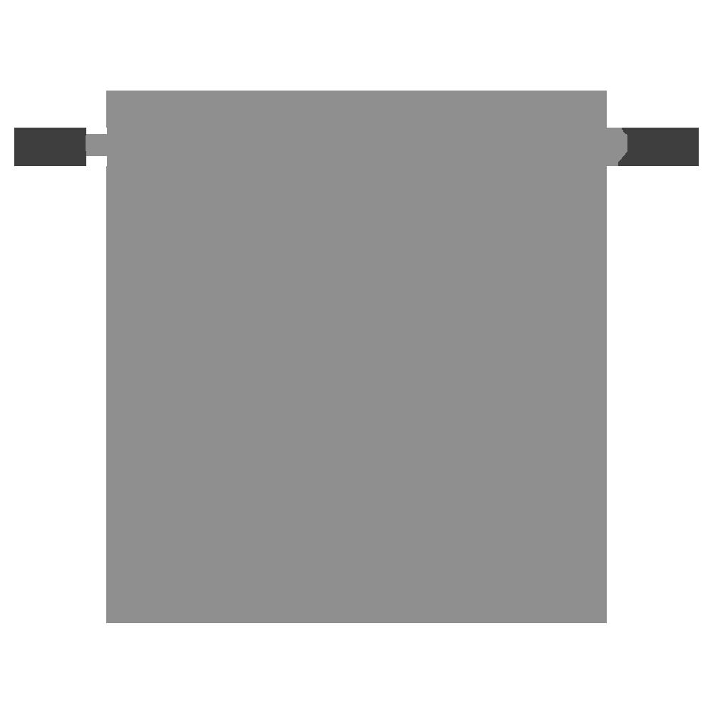 底の深い鍋のフリーイラスト