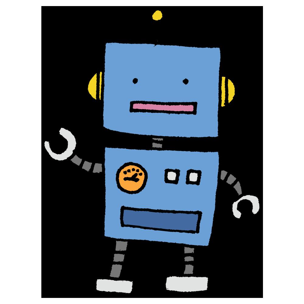 ロボットのフリーイラスト