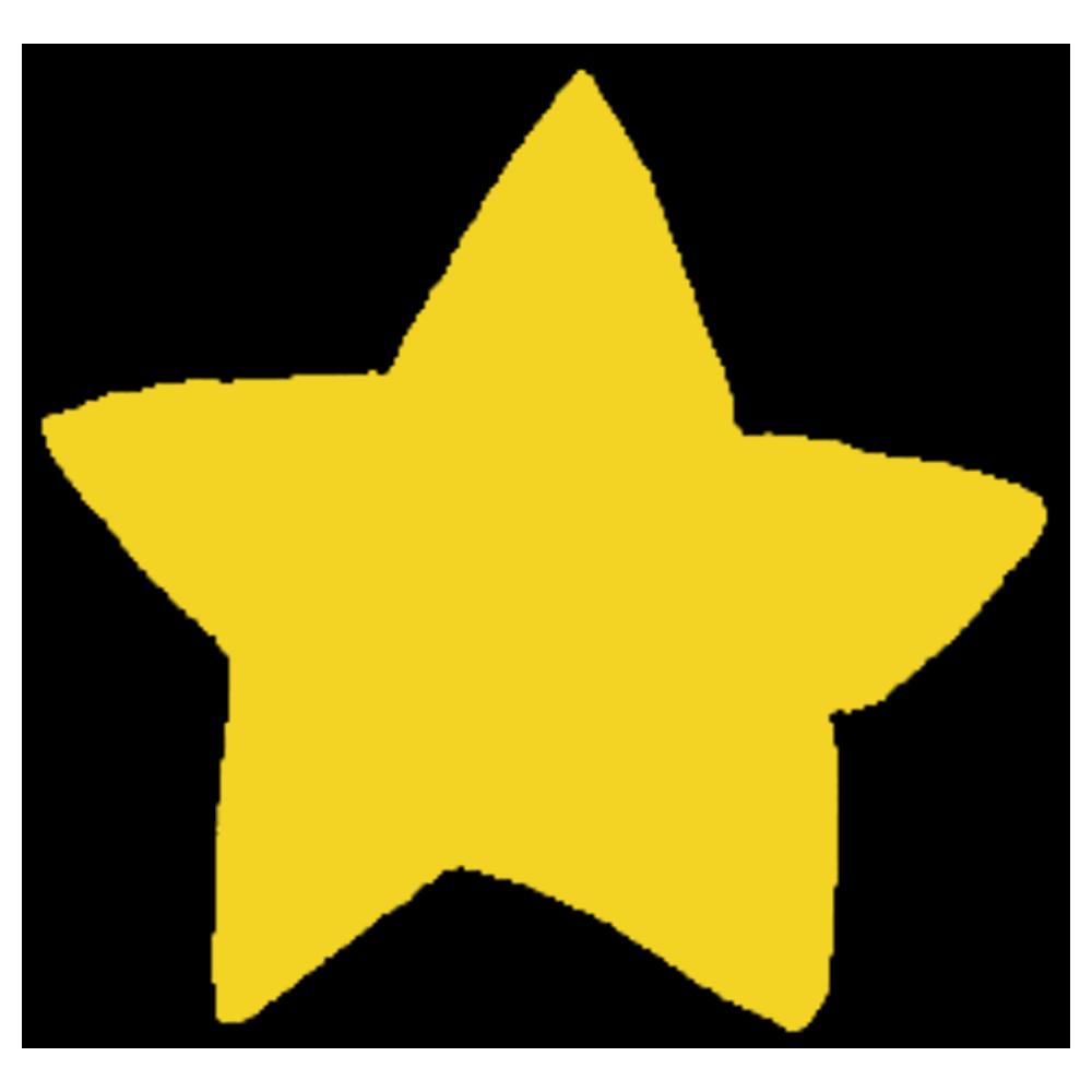 星のフリーイラスト
