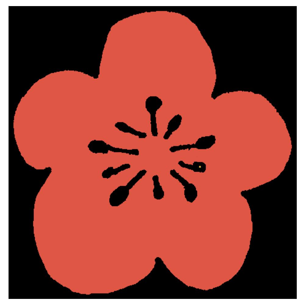 梅の花のフリーイラスト