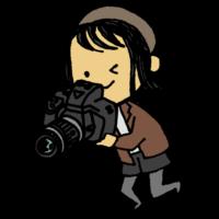 帽子,タイツ,ショートヘアー,手書き風,カメラ,一眼レフ,カメラ女子,女性,写真,撮影,撮る,写す,電化製品,電子機器,アート,芸術,人物,コンテスト,デジタル,デジカメ,デジタルカメラ