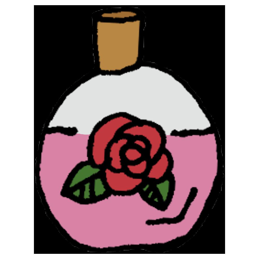 手書き風,日用雑貨,生活雑貨,生活用品,香水,香り,いい香り,女性,フェロモン,ムラムラ,色気,身だしなみ,香る,バラ,薔薇,バラの香り,瓶
