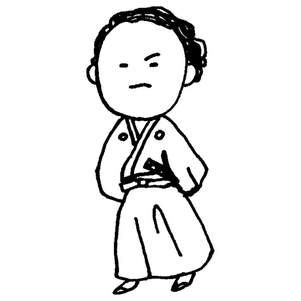 手書き風,人物,歴史,昔,史上,坂本龍馬,坂本,龍馬,刀,昔の人,歴史上の人物,日本史,日本,学ぶ,学校,授業,薩長同盟,土佐,男性,着物