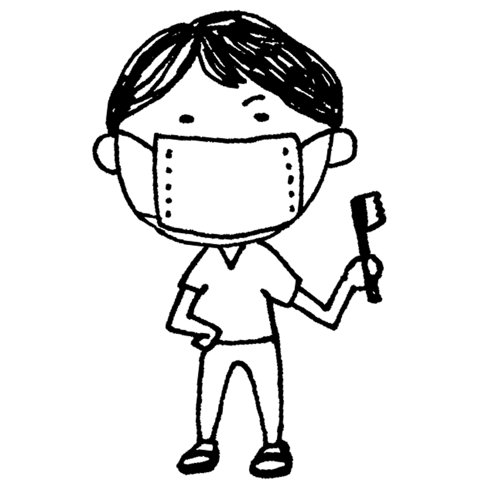 手書き風,人物,男性,歯医者,医者,歯,医療,治療,虫歯,医学,健診,健康,歯の治療,歯周病,口臭,ホワイトニング,歯科矯正,お仕事,働く,医師,歯科衛生士,看護師