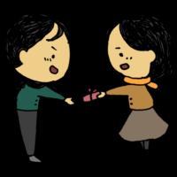 手書き風,人物,バレンタイン,2月,14日,バレンタインデー,2月14日,2/14,好き,女性,男性,渡す,恋愛,実る,恋,愛,好き,大好き,愛してる,イベント,手渡し,チョコレート,食べ物,手作り