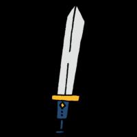 剣のフリーイラスト