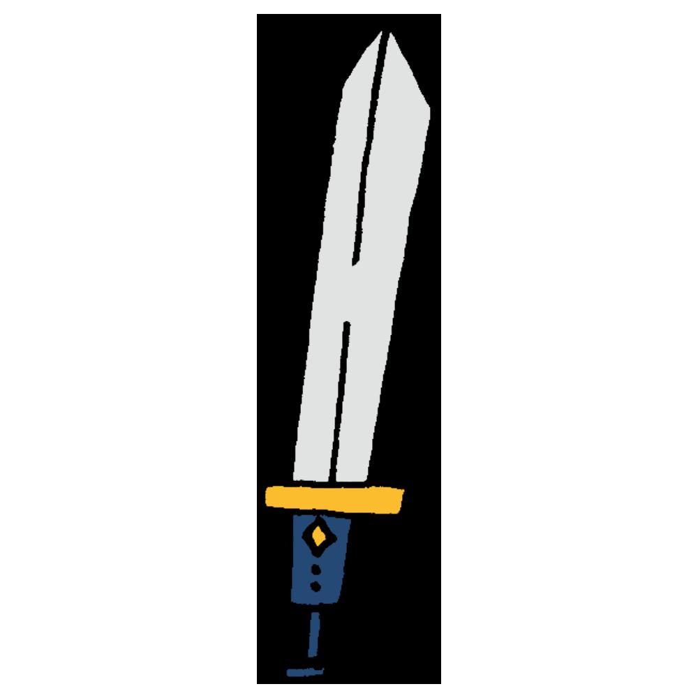 手書き風,物語,西洋,剣,刀,ソード,戦う,勇者,切る,武器,道具,戦闘,強い,弱い,かっこいい,憧れる,勇敢