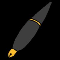 手書き風,文房具,ペン,描く,書く,万年筆,おしゃれ,アンティーク,レトロ,古い,文章,小説,小説家,インク,字,綺麗