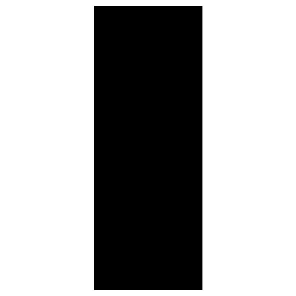 縦長い円柱のポストのフリーイラスト