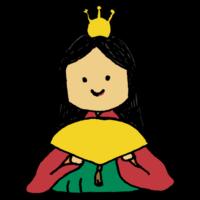 手書き風,人物,女性,お雛様,綺麗,3月,3月3日,女の子の日,お祭り,イベント,可愛い,物語,風習