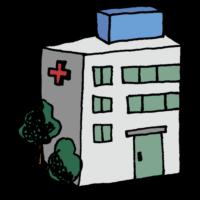 病院のフリーイラスト