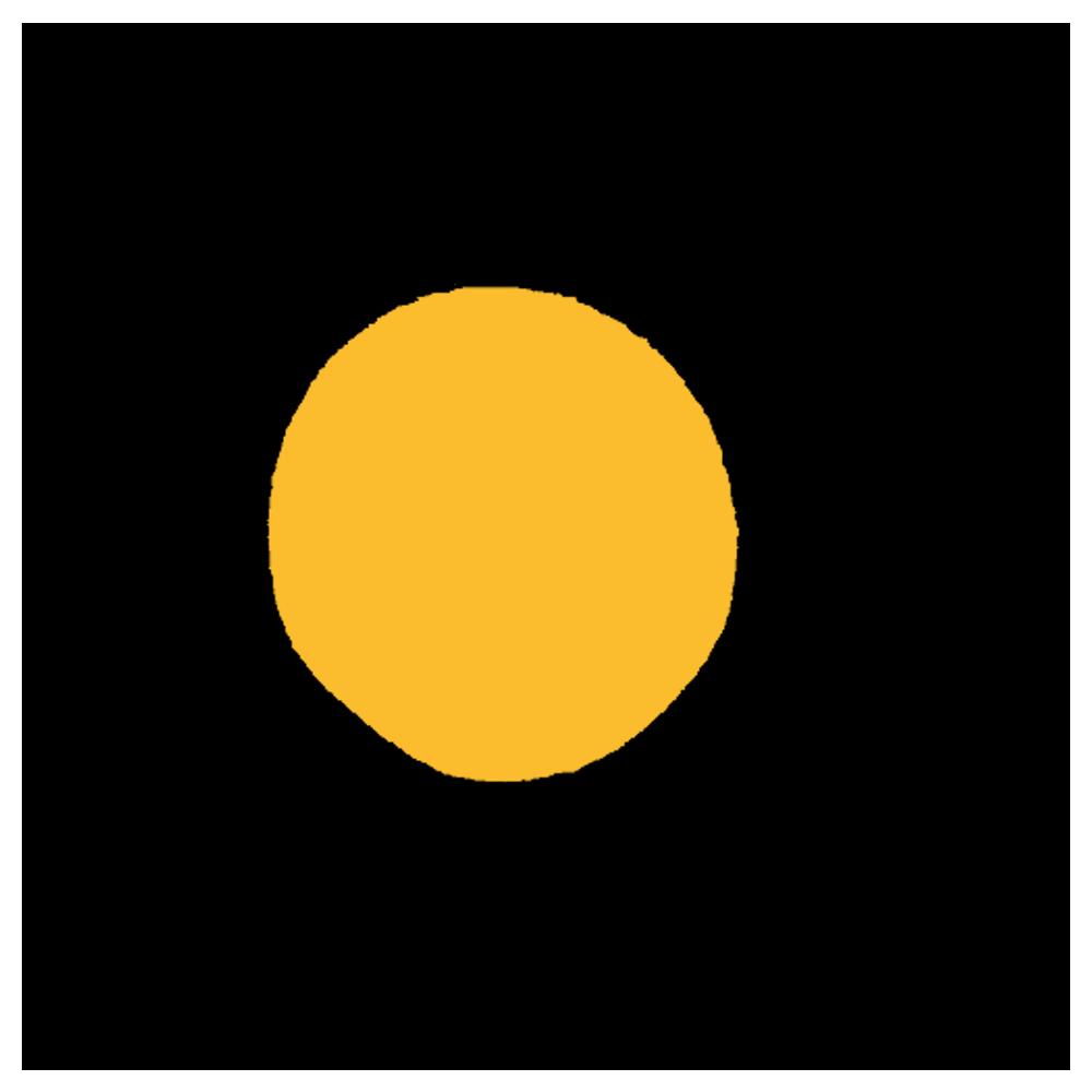 熱そうな太陽のフリーイラスト
