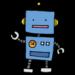 ロボット,機械,電子,動く,手書き風