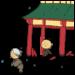 羅生門,文学,手書き風,芥川龍之介,国語,小説,老婆,人物,門,下人,羅城門,平安時代,文学,雨,雨やみ,にきび,くさめ